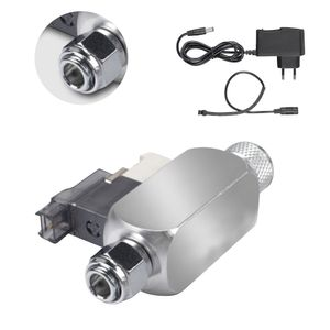 DC 12 V Ausgang Magnetventil Aquarium CO2 System Regler Elektromagnetventil für Aquarium Wasserpflanze Gras Wachsen Einfach zu Installieren Einzelkopf