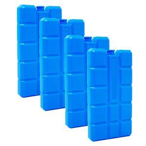 ToCi 4er Set Kühlakku mit je 200 ml | 4 blaue Kühlelemente für die Kühltasche oder Kühlbox