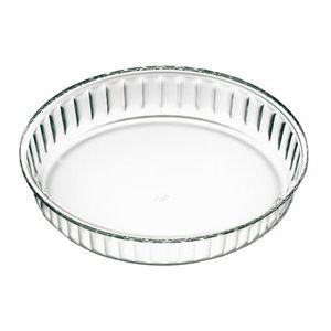 Ø 28 cm TARTEFORM Glas Quicheform Kuchenform Backform Obstkuchenform