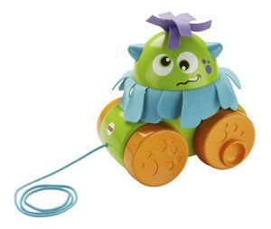 Fisher-Price Wirbel-Monster, Baby-Spielzeug, Nachzieh-Spielzeug, Nachziehtier