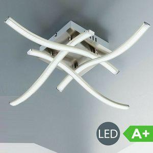 LED Deckenleuchte Deckenlampe warmweißen 3000K Beleuchtung 4 Flammig 28 Watt LED Platine für Wohnzimmer Schlafzimmer 2300Lm Modern Design