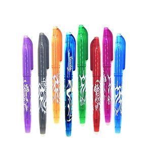 0,5 mm löschbarer kugelneutraler Stift Schulbüro löschbarer Gel-Tintenstift 8 Farben
