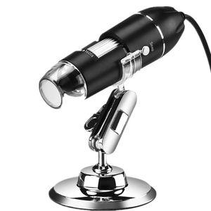 Digitales USB-Mikroskop - Zoom mit 50 bis 1600-facher Vergrößerung