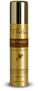 That'so On The Go - Dark Special Edition Bräunungsspray - Selbstbräuner - Sun Make-up Tanning Spray Spray 75ml