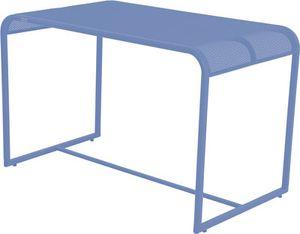 MWH Balcony Gartentisch - Material: Metall, Farbe: Campanula, Maße: 110 cmx63 cmx70 cm; 879896
