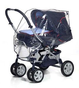 REER Universal- Regenschutz 3 in 1 für Buggy, Kinderwagen usw.