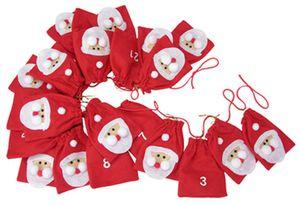 Adventskalender Weihnachtskalender Weihnachten selbst Befüllen Stiefel Säckchen