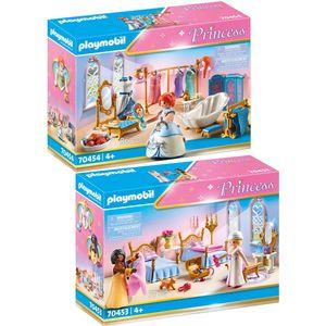 PLAYMOBIL 70453 70454 Princess 2er Set Schlafsaal