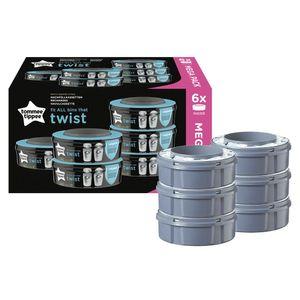 Tommee Tippee Windeleimer Nachfüllkassette für Twist & Click und Sangenic TEC Wi