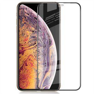 iPhone XR / iPhone 11 Panzerglas Schutzfolie Schutzglas Displayfolie Full-Screen Hart-Glas Blasenfrei Screen Protector Tempered Glas Echt Glas Protective