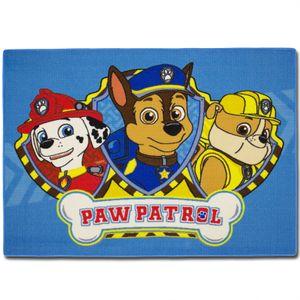 Kinderteppich Paw Patrol Blau Spielteppich Kinder Teppich Kinderzimmer 133x95cm Läufer
