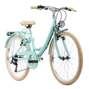 Kinderfahrrad 24'' Balloon grün RH 36 cm KS Cycling