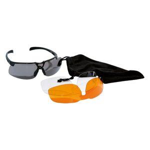 Sport-/Sonnenbrille mit 3 Paar Linsen Pro