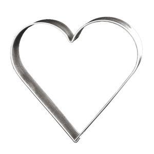 Lares Ausstechform Herz 12 cm Lebkuchen-Ausstecher