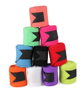 ARBO-INOX Fleecebandagen Bandagen 4 Stück QHP 7 Farben Farbe - lila
