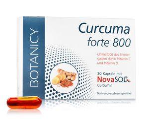 CURCUMA FORTE 800 mit flüssigem Mizell-Curcumin ohne Piperin, hochdosiertes Kurkuma für die tägliche Einnahme