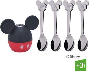 WMF Salzstreuer Mickey Mouse mit vier Löffeln S