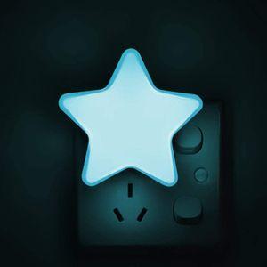 Steckdose Nachtlicht, Kinderzimmer Nachtlampe Orientierungslicht Steckdose Nachtlampe für Kinderzimmer, Wohnzimmer, Flur, Treppe