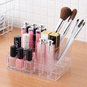 24 Plätze Lippenstift Organizer Lippenstifthalter Make Up Aufbewahrung Arcyl Transparent Lippenstift Halter