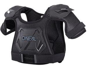 O'Neal PEEWEE Chest Guard Brustprotektor, Farbe:Neon Yellow, Größe:M/L