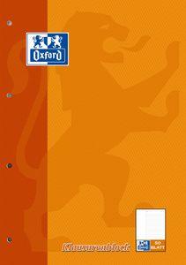Oxford Klausurenblock DIN A4 50 Blatt liniert