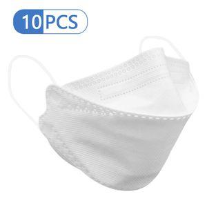 Gesichts-Mund-Maske Anti-Bakterien 94% Filtermaske Staubdicht