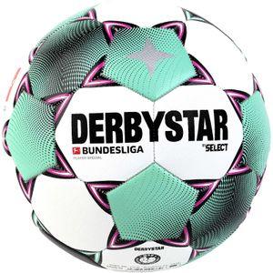 Derbystar Bundesliga Player Special Fußball weiß/pink/grün 5