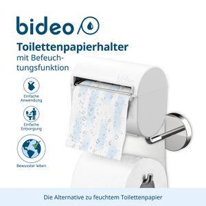 bideo Toilettenpapier  bi deo WC Rollen Klopapier Halter  Befeuchtungsfunktion