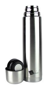 Isolierflasche / Thermoflasche / Thermoskanne - Edelstahl, doppelwandig - 1,0 Liter / 1000ml