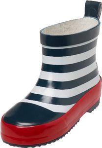 Playshoes Gummistiefel Halbschaft maritim Farbe: marine/weiß Größe: 20