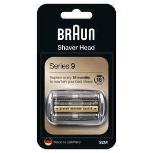 Braun Series 9 92M Elektrorasierer Ersatzscherteil – silber