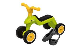 BIG Laufrad Rider + BIG Schuhschoner, grün/gelb