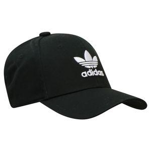 adidas Originals Baseball Trefoil Kappe Herren Schwarz/Weiß (EC3603) Größe: Einheitsgröße FM