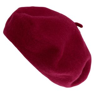 Damen Baskenmütze HA614 (Einheitsgröße) (Dunkles Pink)