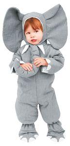 Elefanten Kostüm für Kinder, Größe:98/104