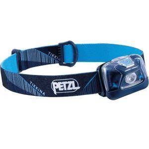 Petzl TIKKINA®  Einfache, kompakte Stirnlampe für die Beleuchtung im Nahbereich. 250 Lumen, blau