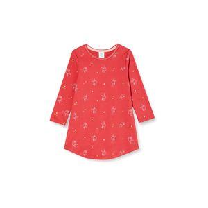 Sanetta Mädchen Nachthemd Sleepshirt mit Eulen-Alloverprint