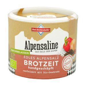 Alpensaline Edles Alpensalz BioBrotzeit 100 g Dose