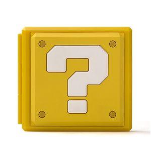 Premium Game Card Case Aufbewahrungsbox fuer Nintendo Switch - Fragenblock