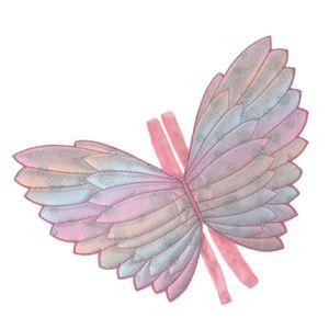 Kinder Mädchen Schmetterlingsflügel Fairy Cape Funny Dress Party Kostümzubehör
