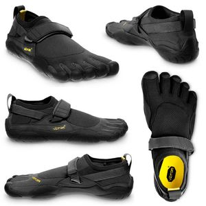 Vibram FiveFingers KSO Men + Zehensocke, Size:47, Color:Black