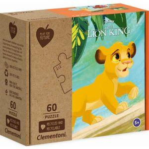 Disney puzzle Der König der Löwen junior Karton 60 Teile
