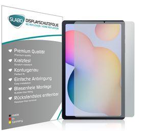 """2x Slabo Displayschutzfolie für Samsung Galaxy Tab S6 Lite MATT """"No Reflexion"""" (verkleinerte Folien) Displayfolie Schutzfolie Folie"""