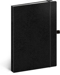 Bullet Journal Notizbuch A5 Dotted, Gepunktet Notizblock Notebook Sketchbook, Tagebuch für Erwachsene Vivella Classic (Schwarz/Schwarz)