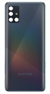 Original Samsung Galaxy A51 SM-A515F Akkudeckel Backcover Hinten Schwarz Gut
