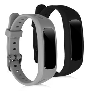 kwmobile 2x Sportarmband kompatibel mit Honor Band 3e - Armband Silikon Fitnesstracker