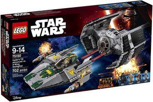 LEGO® SW-Vader's TIE Advanced vs. A-Wing Starf (75150) Lego Spielwaren GmbH