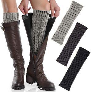 3 Paar Beinstulpen für Damen Winterwarme Beinstulpen für Strickwaren