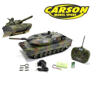 Carson Hobby Engine Panzer Leopard 2A5 100% RTR 27MHz