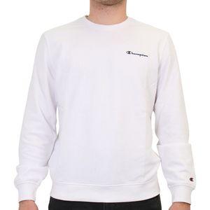 Champion Crewneck Sweatshirt Herren Weiß (214151 WW001) Größe: L